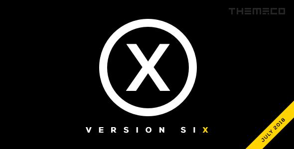 X Theme Screenshot - دانلود رایگان تم و پلاگین