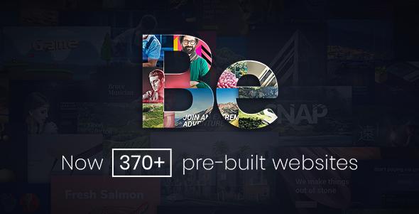 BeTheme Theme Screenshot - دانلود رایگان تم و پلاگین